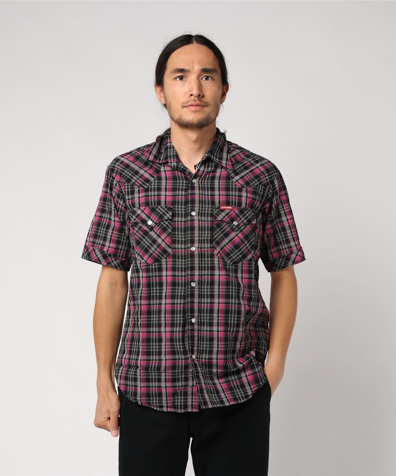 半袖ウエスタンシャツ