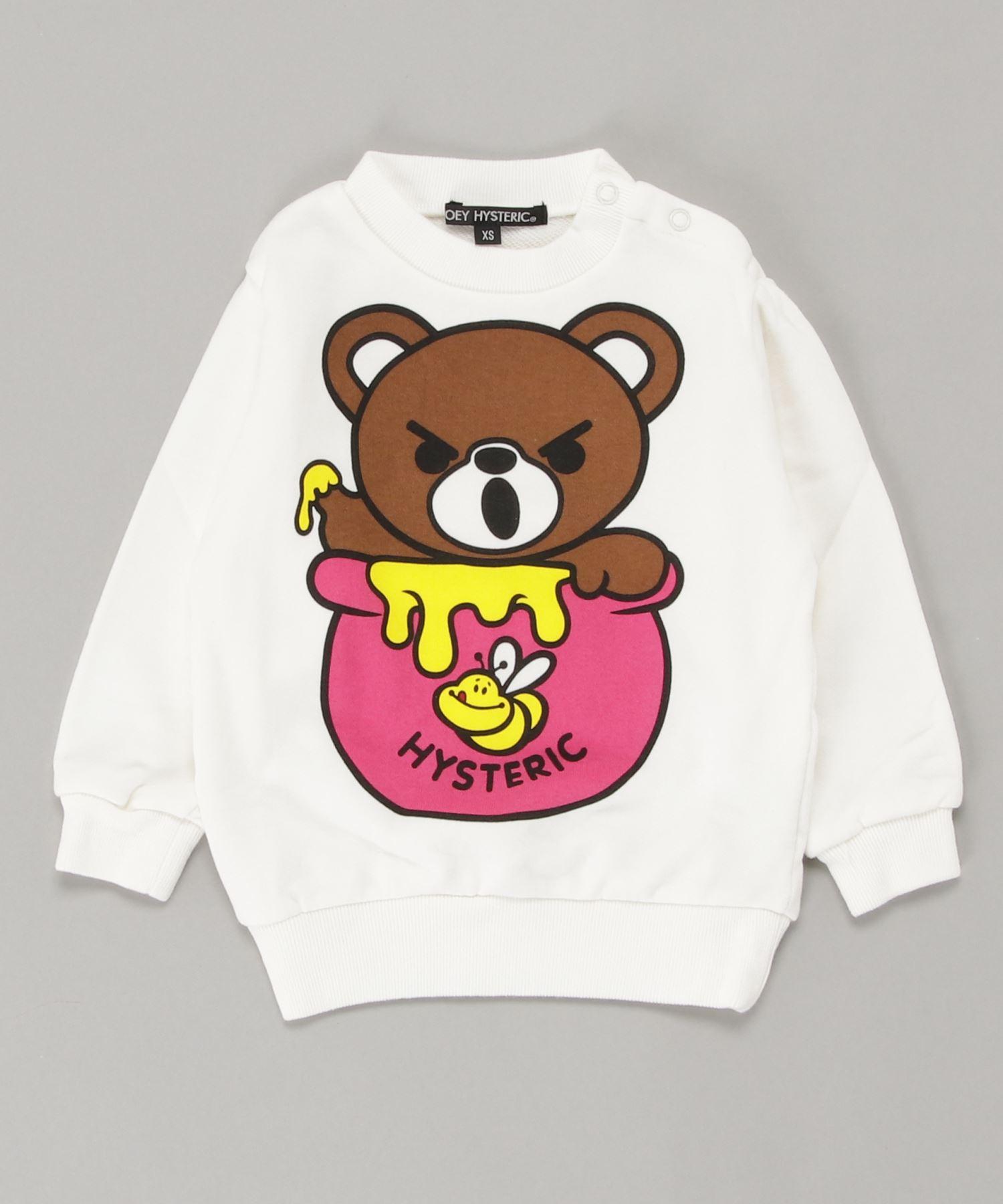 HONEY BEAR スウェット【XS/S/M】