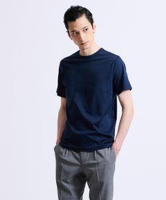 ESTNATION クルーネック半袖Tシャツ <GIZAndyシリーズ>