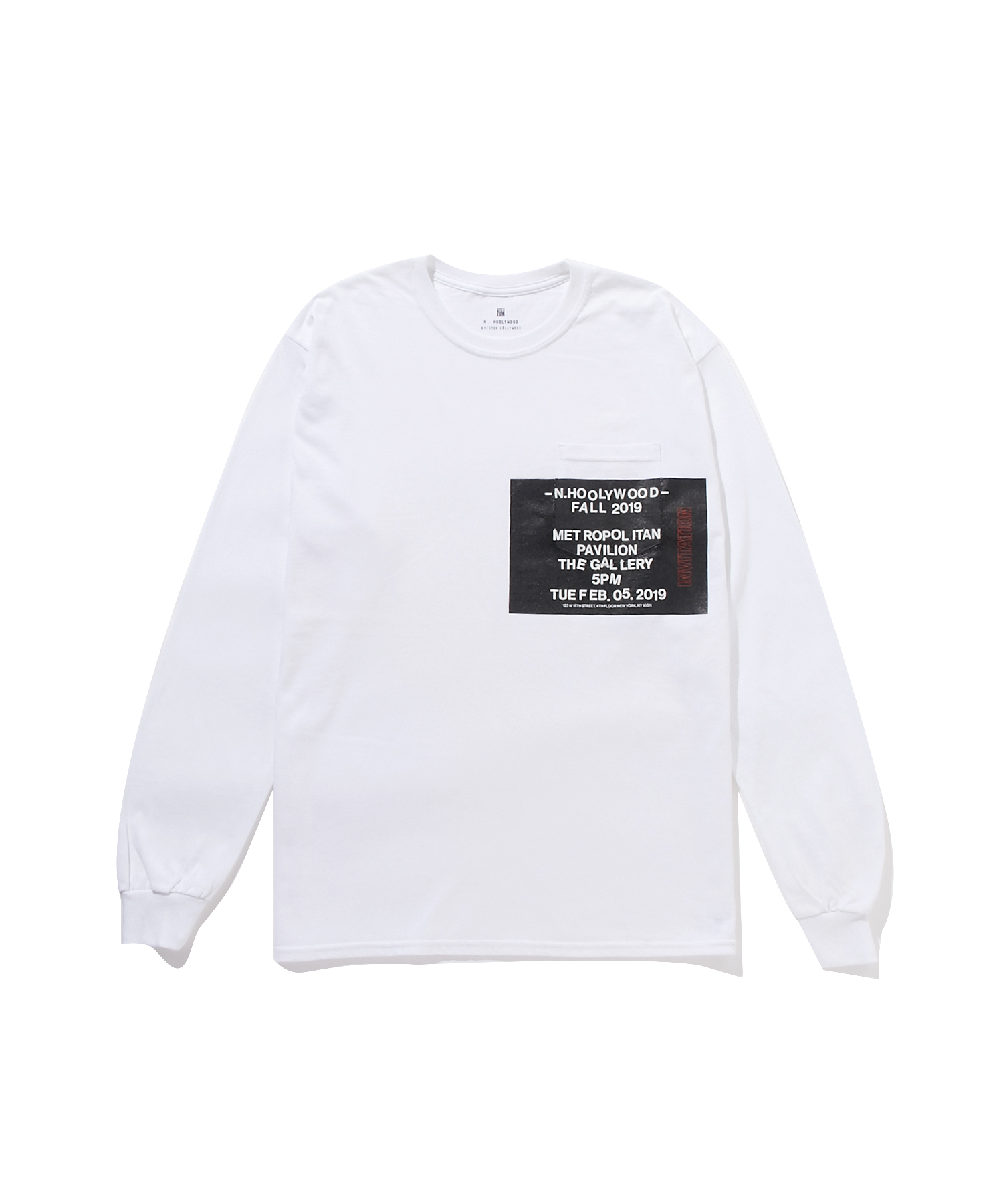 FALL2019 LONG SLEEVE T-SHIRT