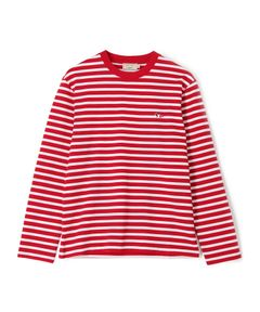 "MAISON KITSUNE / ""MARIN TEE-SHIRT TRICOLOR FOX PATCH"" カットソー"