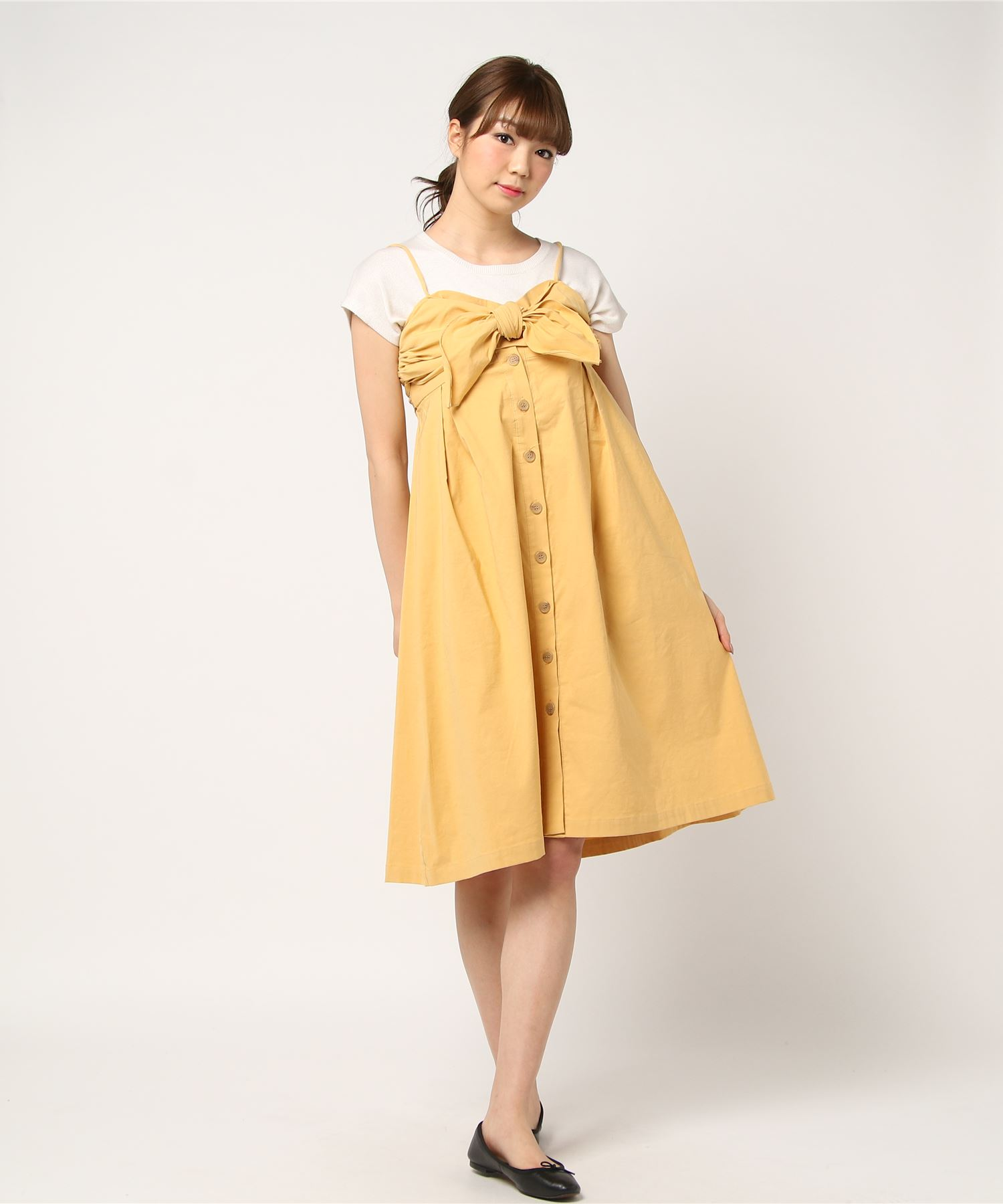 Sea New York シーニューヨーク / TIE FRONT CUTOUT DRESS