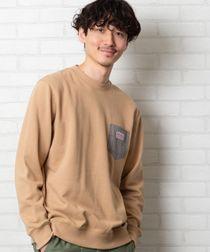 【女性にもオススメ】SMITH'S別注ポケットスウェットクルーネック20SS(トレーナー)(一部WEB限定カラー)#