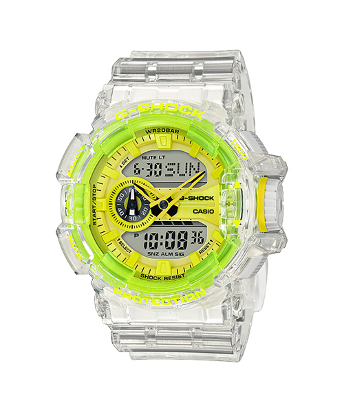 "CASIO G-SHOCK / CLEAR SKELETON ""GA-400SK-1A9JF"" リストウォッチ"