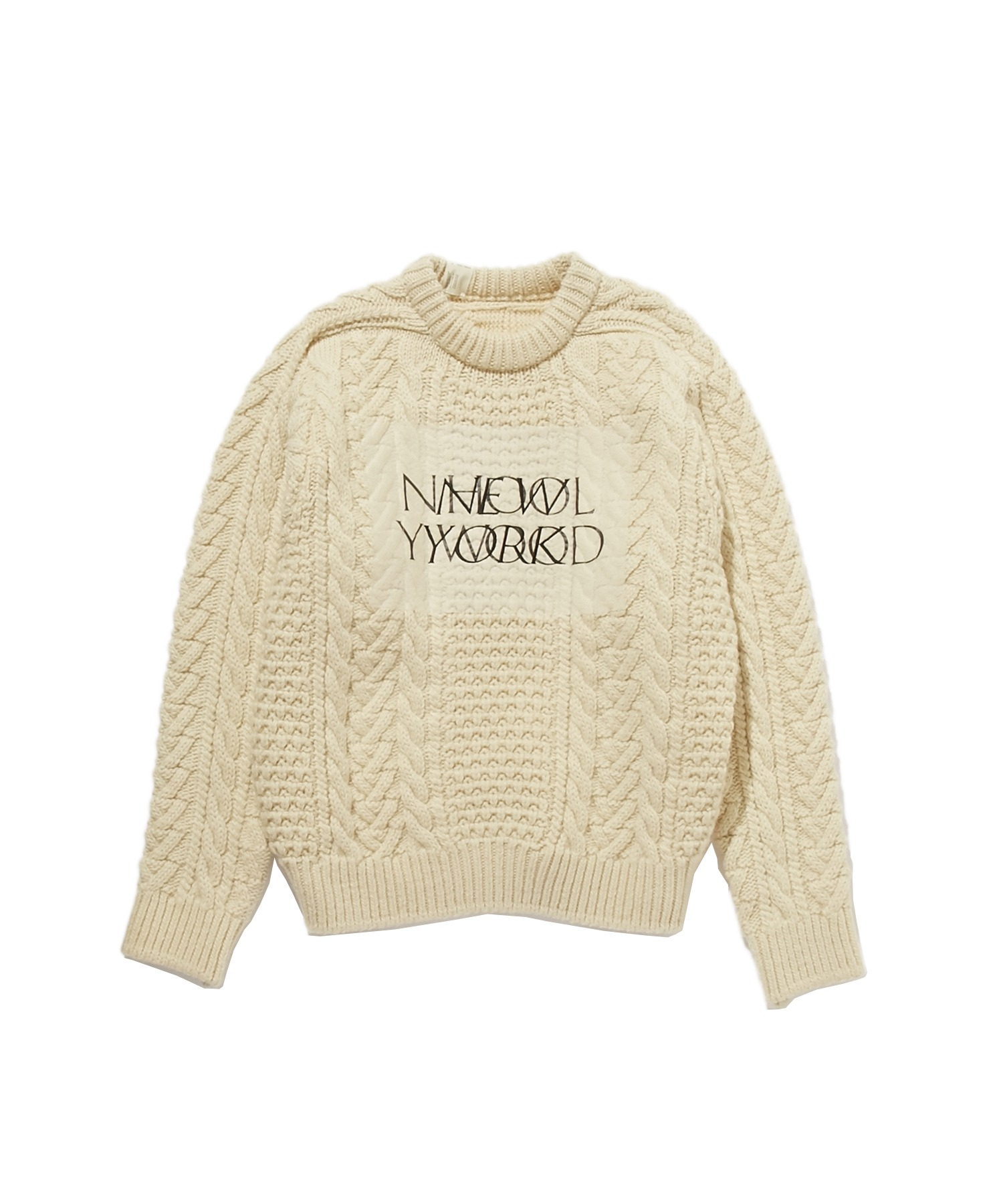 FALL2019 CABLE KNIT