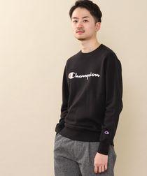 【WEB限定】Champion(チャンピオン)ロゴプリントベーシッククルーネックスウェットシャツ