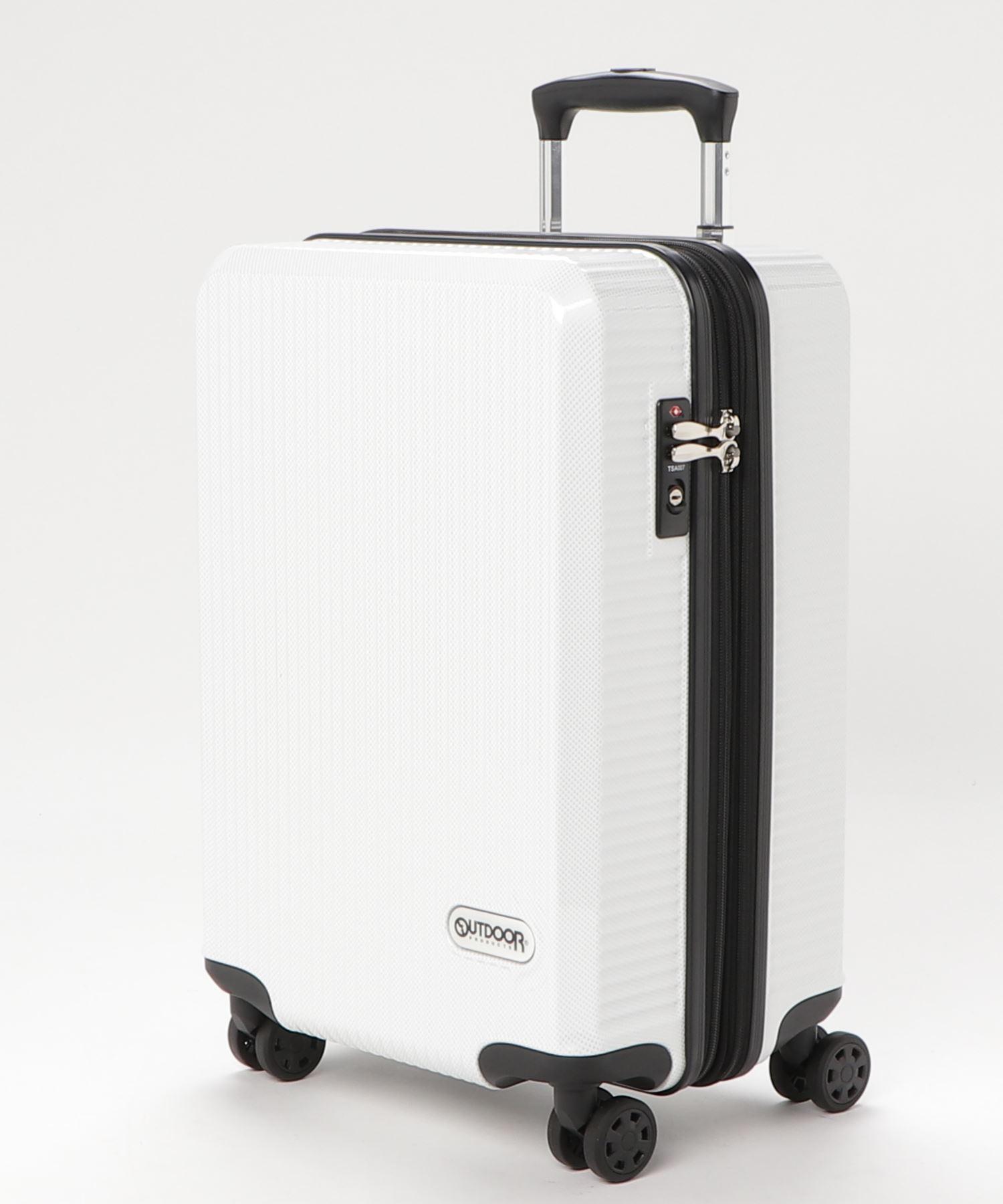 Wホイールキャリーケース 50cm 容量40L 軽量  拡張式ファスナー