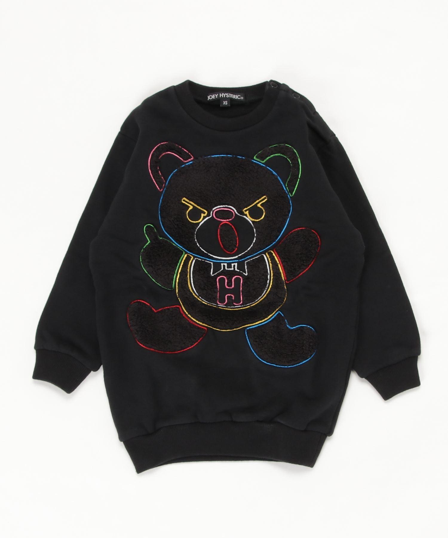 HYS BEAR刺繍 スウェット【XS/S/M】