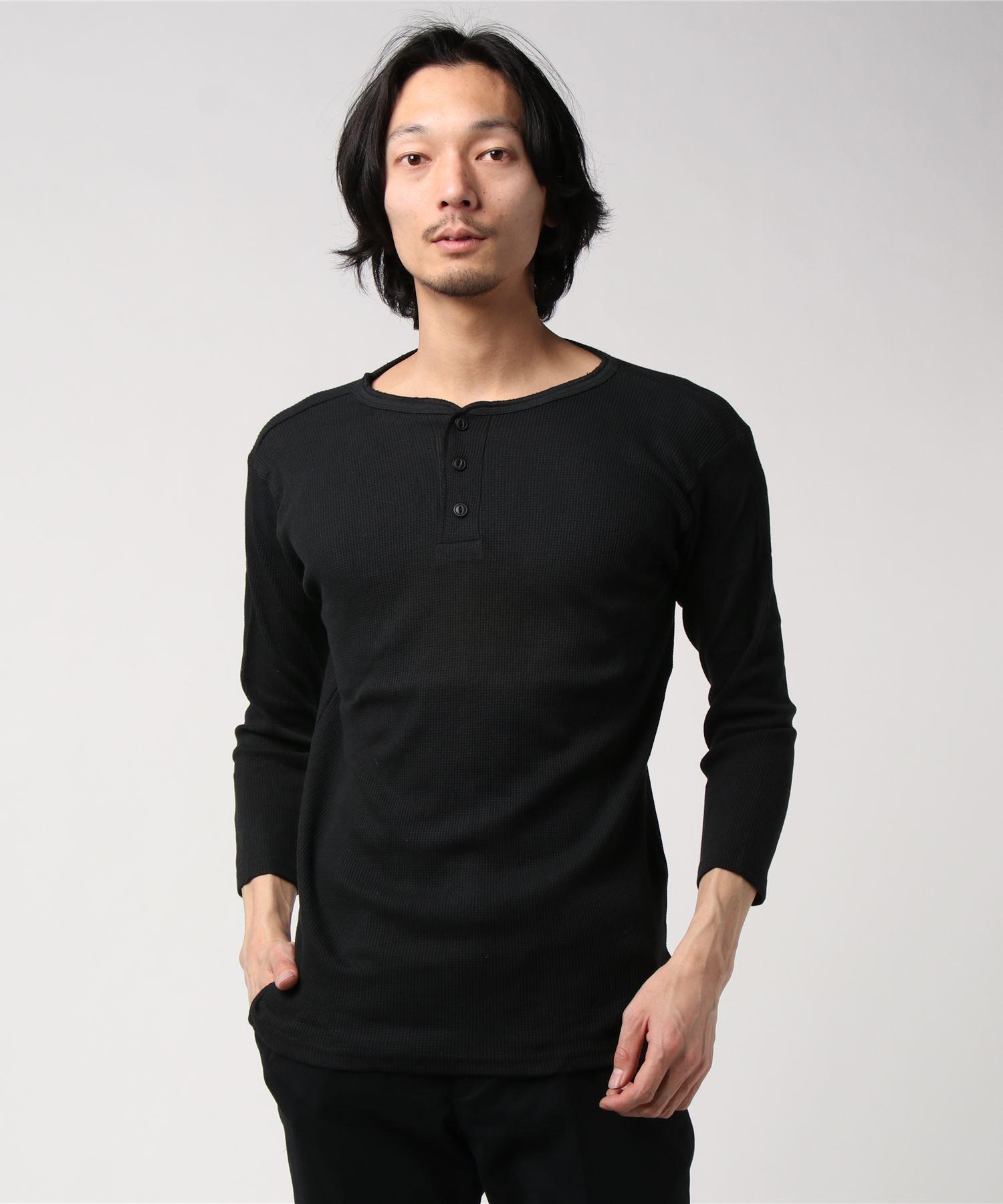ワッフルサーマル CREW/HENLEY 7分袖&半袖 Tシャツ / クルーネック&ヘンリーネック