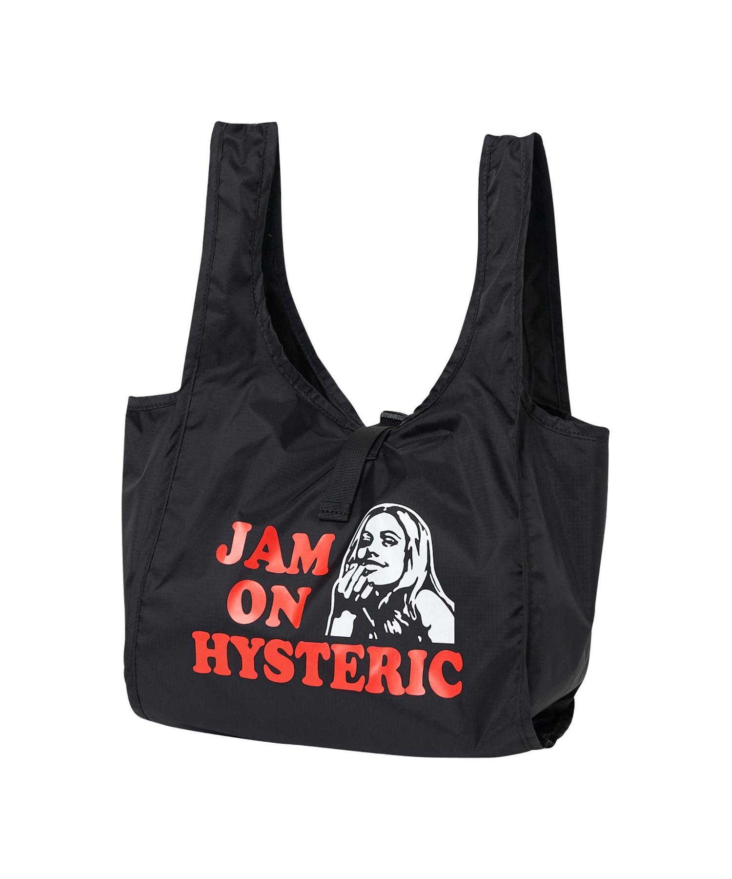 JAM ON HYSTERIC ミニエコバッグ