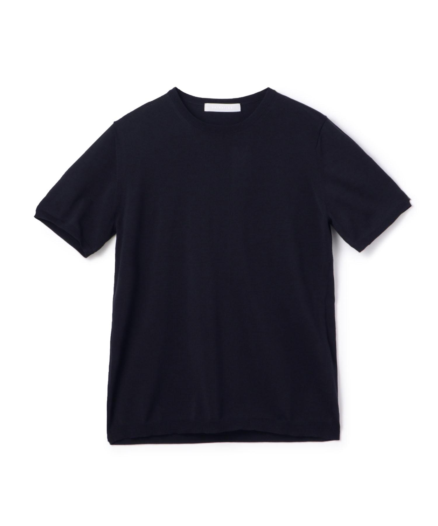 ESTNATION / ウォッシャブルニットTシャツ