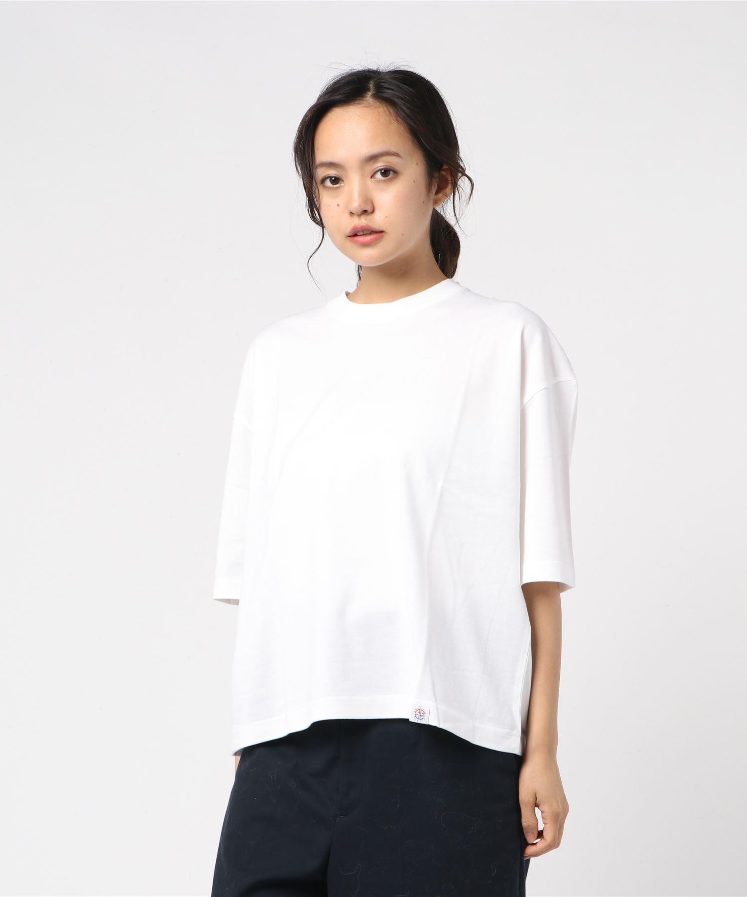 AMERICAN RAG CIE Boxy Shaped T Shirt/アメリカンラグシー ボックスシルエットTシャツ
