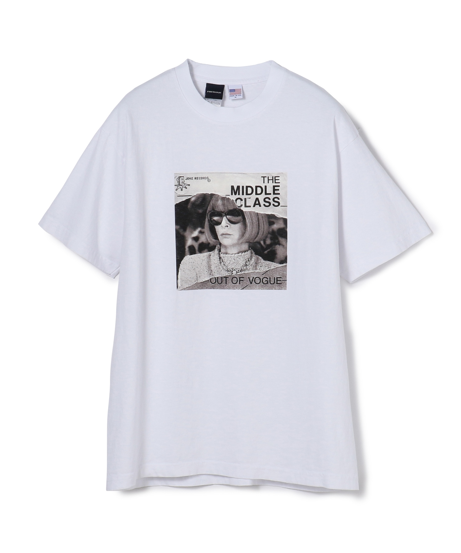 """FRESHJIVE / """"OUT OF VOGUE"""" Tシャツ"""