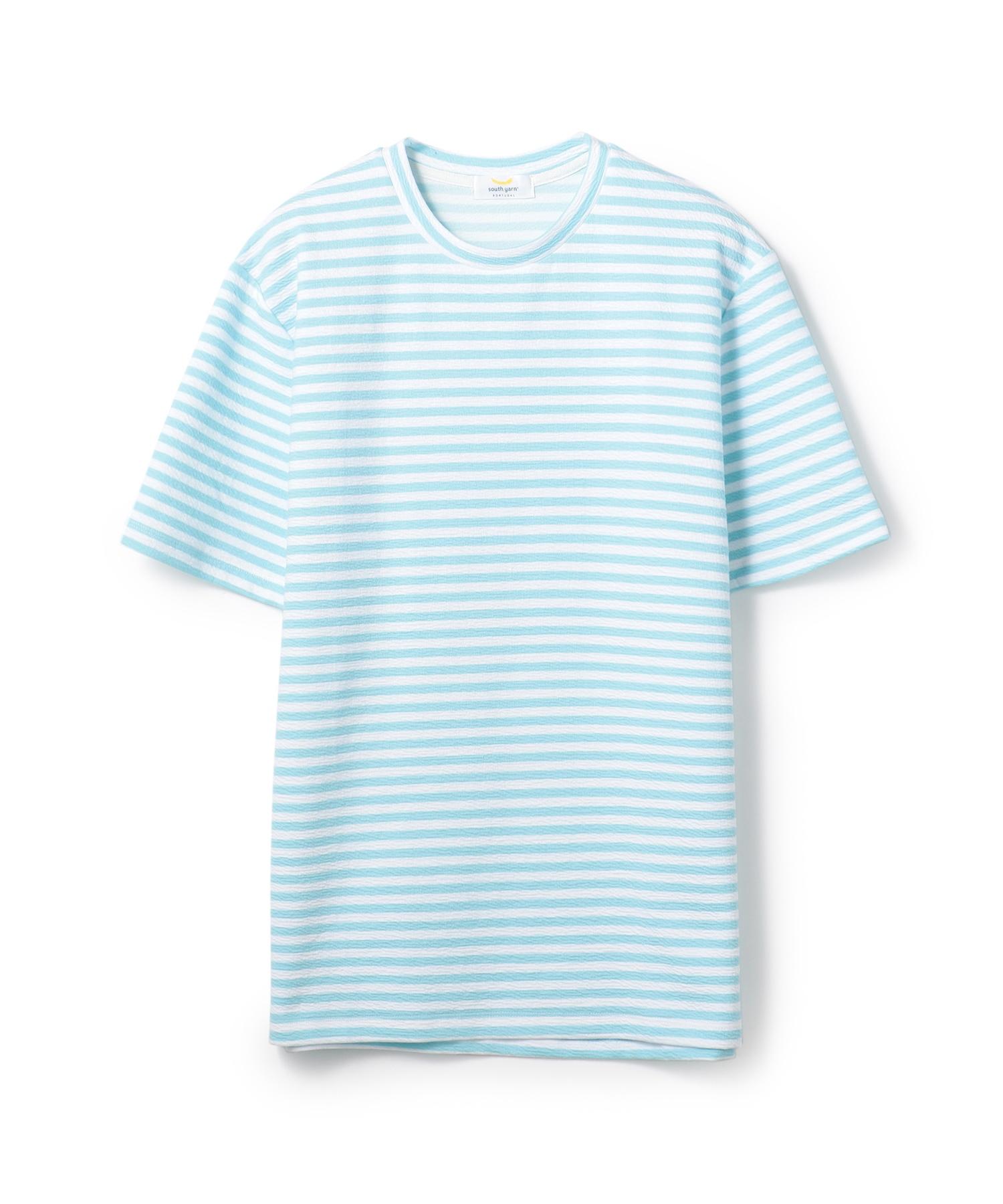 SOUTH YERN / ショートスリーブボーダーTシャツ《ESTNATION EXCLUSIVE》