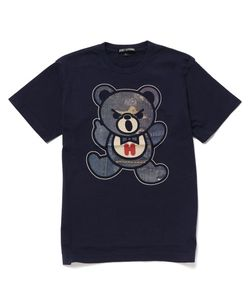 DENIM BEAR pt Tシャツ【L】