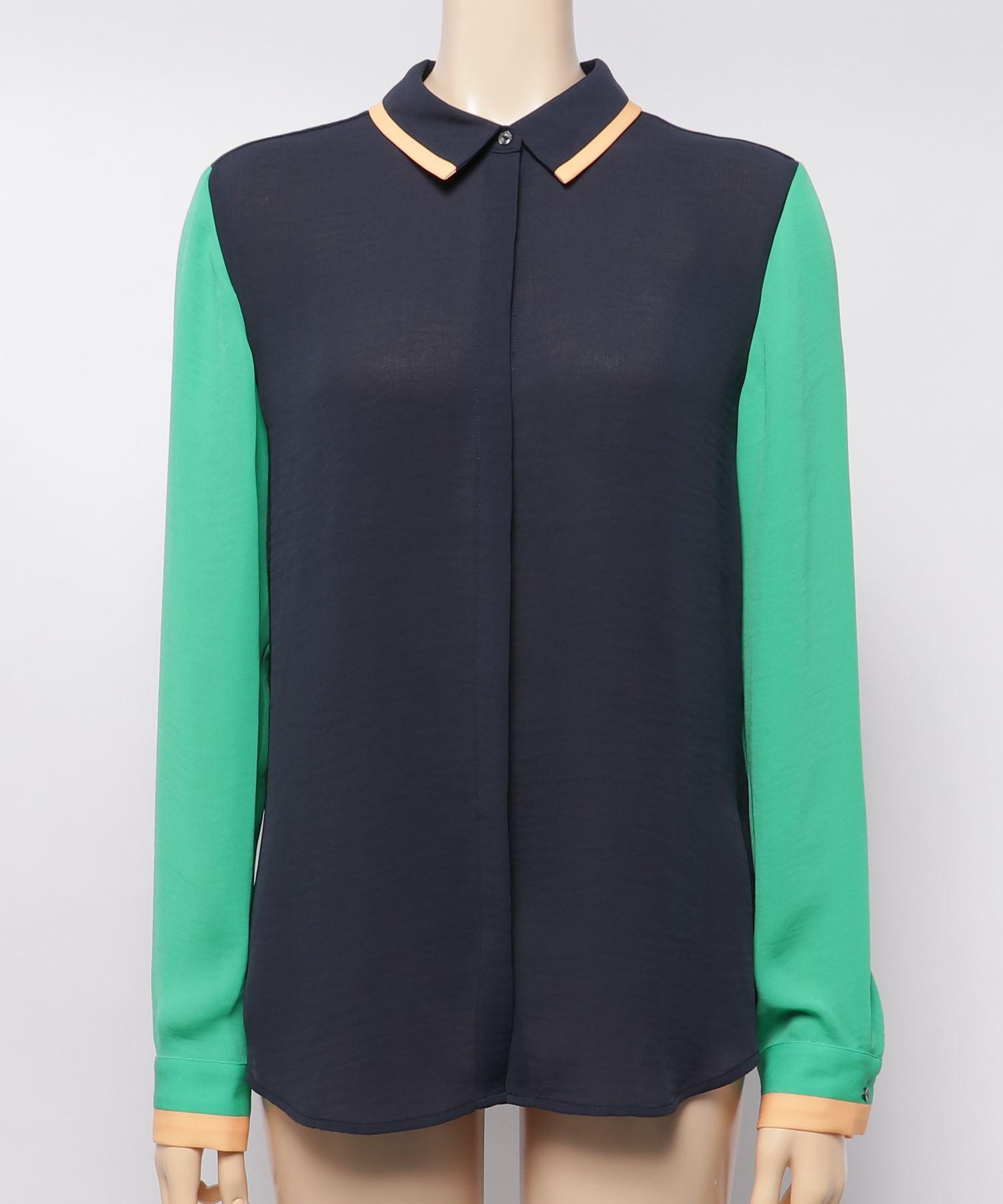 SCOTCH & SODA スコッチアンドソーダ / ブロックカラープリントシャツ
