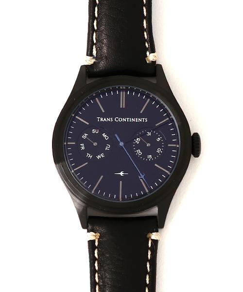 BOUNDARY レザーブラックダイヤル TC-BO-004