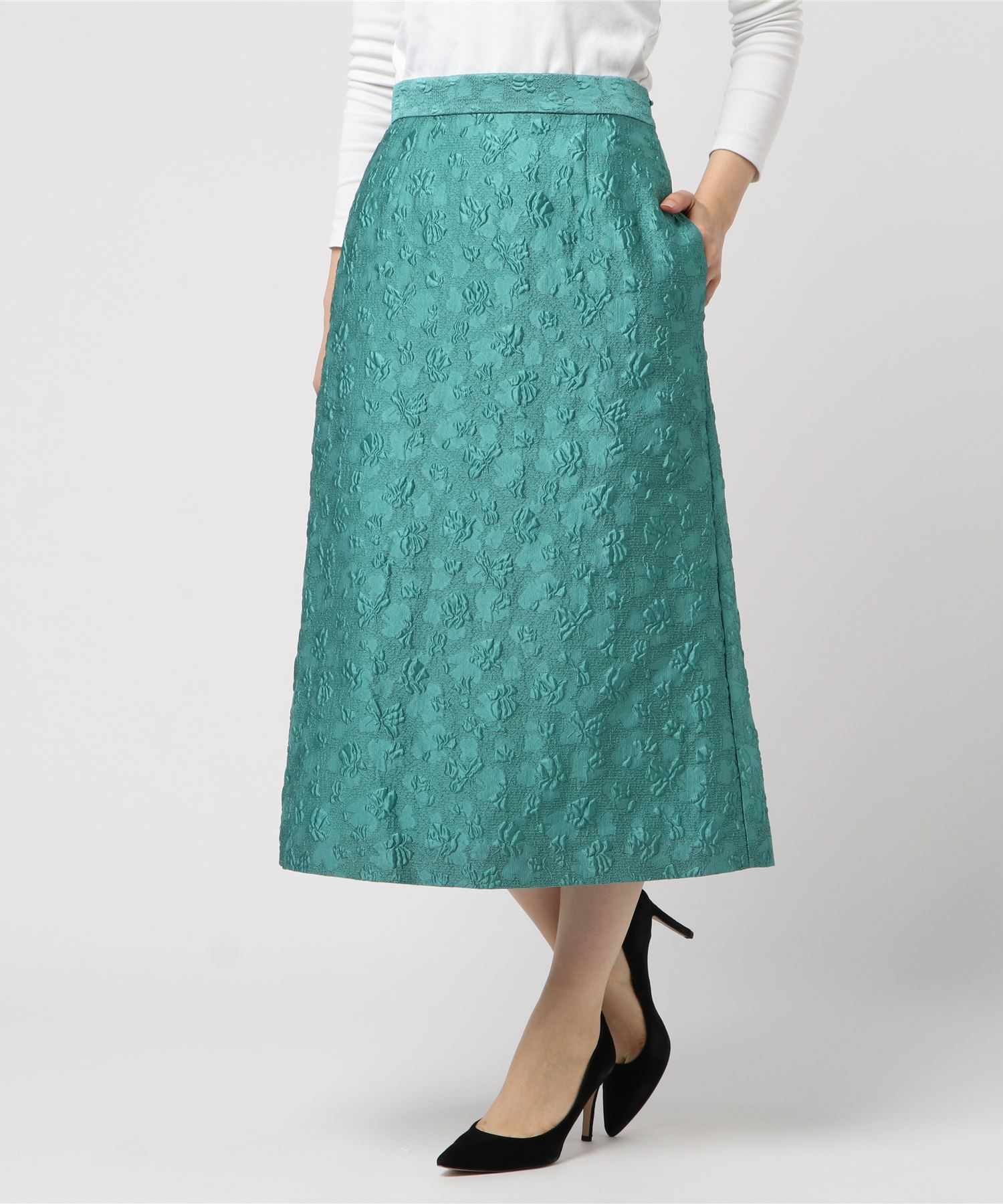 RHIE リエ / GERGIA A-LINE SKIRT スカート