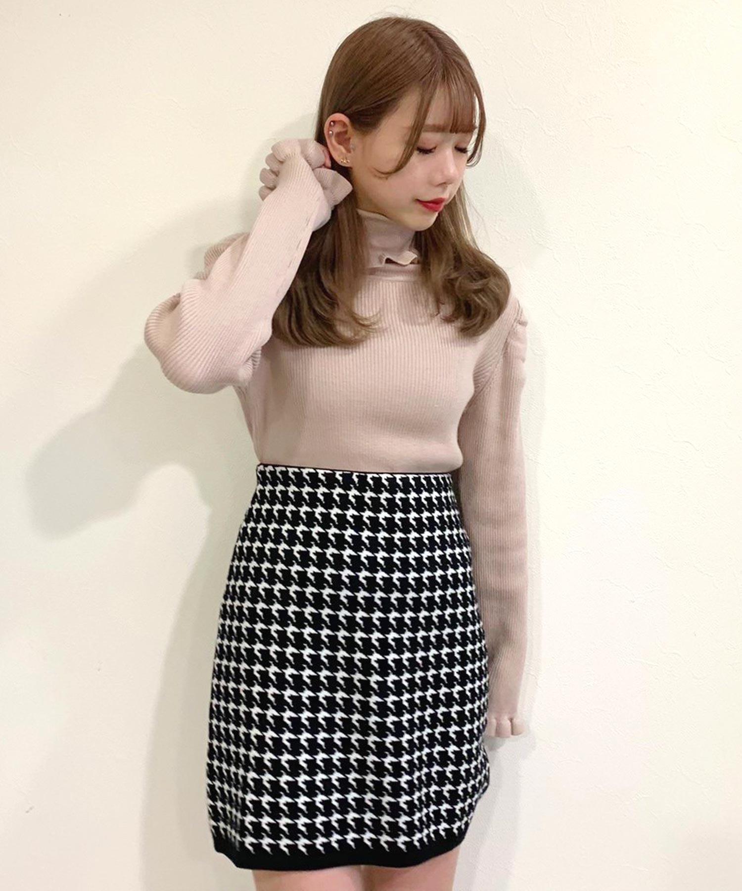 【titty&Co.PETIT】チドリニットスカート
