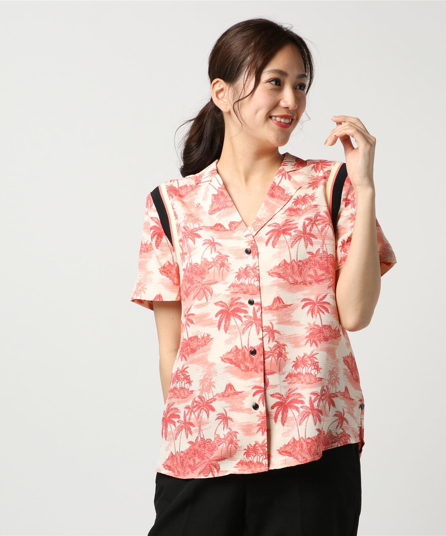 SCOTCH & SODA スコッチアンドソーダ / オープンカラープリントアロハシャツ