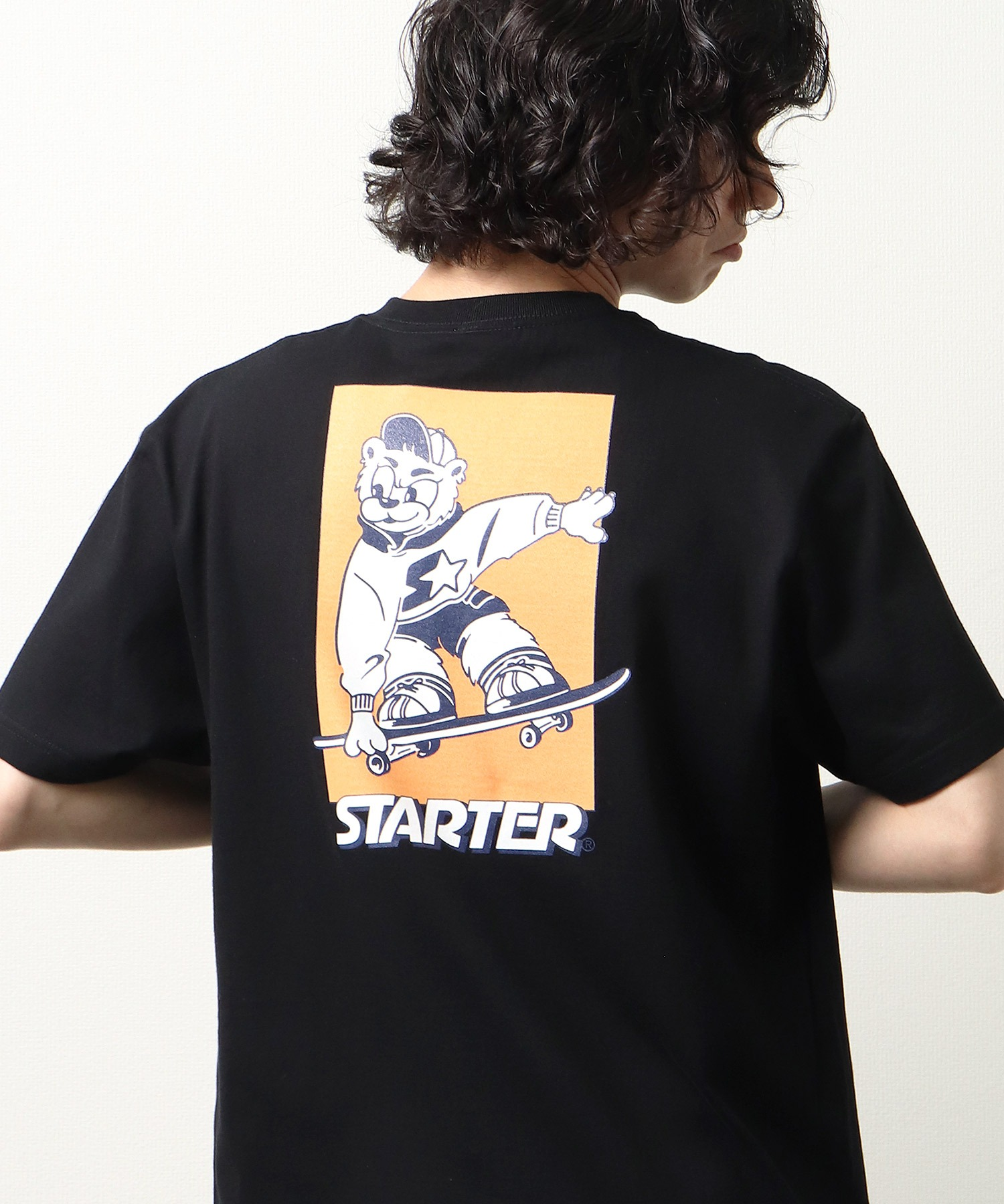 【 STARTER / スターター 】 キャラクターグラフィックTシャツ プリントTシャツ 半袖 X58708J BNU