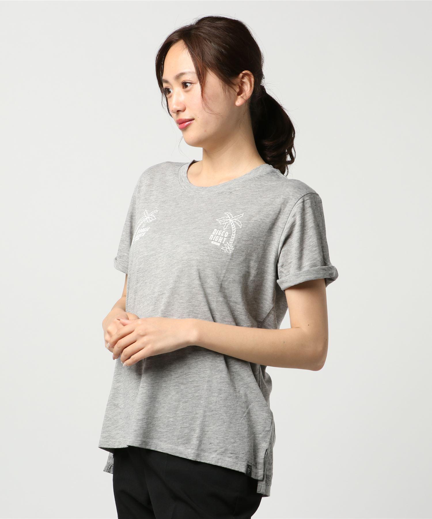 SCOTCH & SODA スコッチアンドソーダ / イレギュラーヘムロールアップスリーブTシャツ
