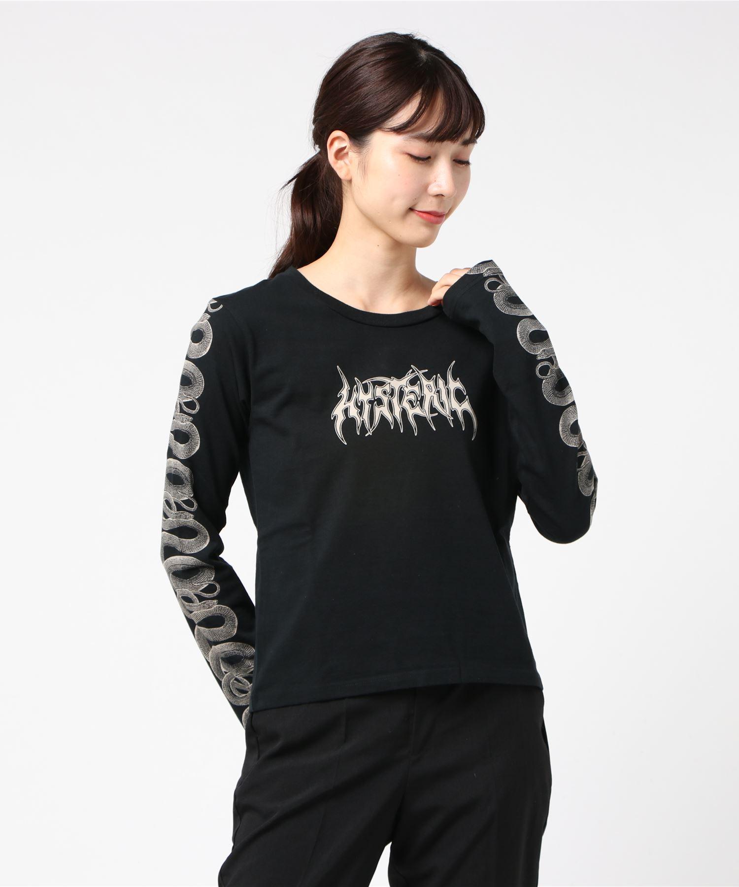 SNAKE SLEEVE Tシャツ