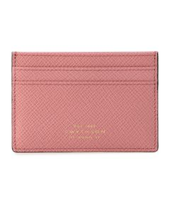 "SMYTHSON / ""FLAT CARD HOLDER PANAMA"" カードケース"