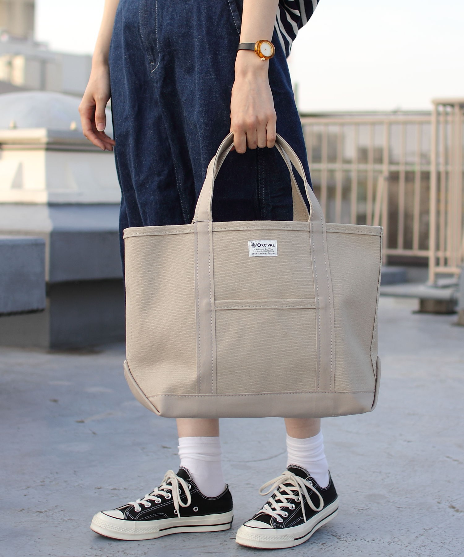 ORCIVAL/オーシバル トートバッグ ソリッド TOTE BAG SOLID #RC-7042