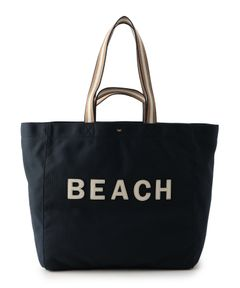 """ANYA HINDMARCH / """"Beach Household Tote"""" トートバッグ"""