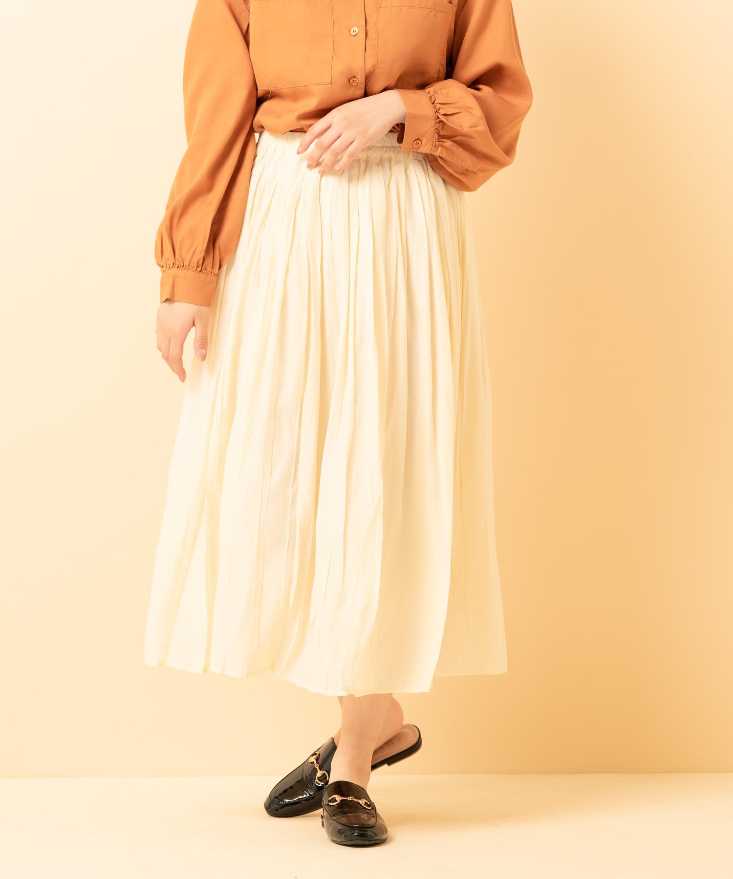 シャインケシプリーツスカート