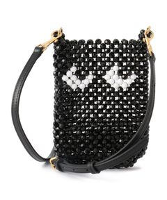 """ANYA HINDMARCH / """"Eyes Pouch on Strap"""" ポーチ"""