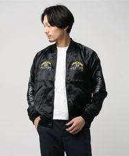 CR/HUNGRY刺繍 スカジャン
