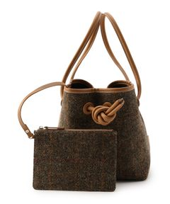 "VASIC / ""BOND MINI HARRIS TWEED"" バッグ《ESTNATION EXCLUSIVE》"