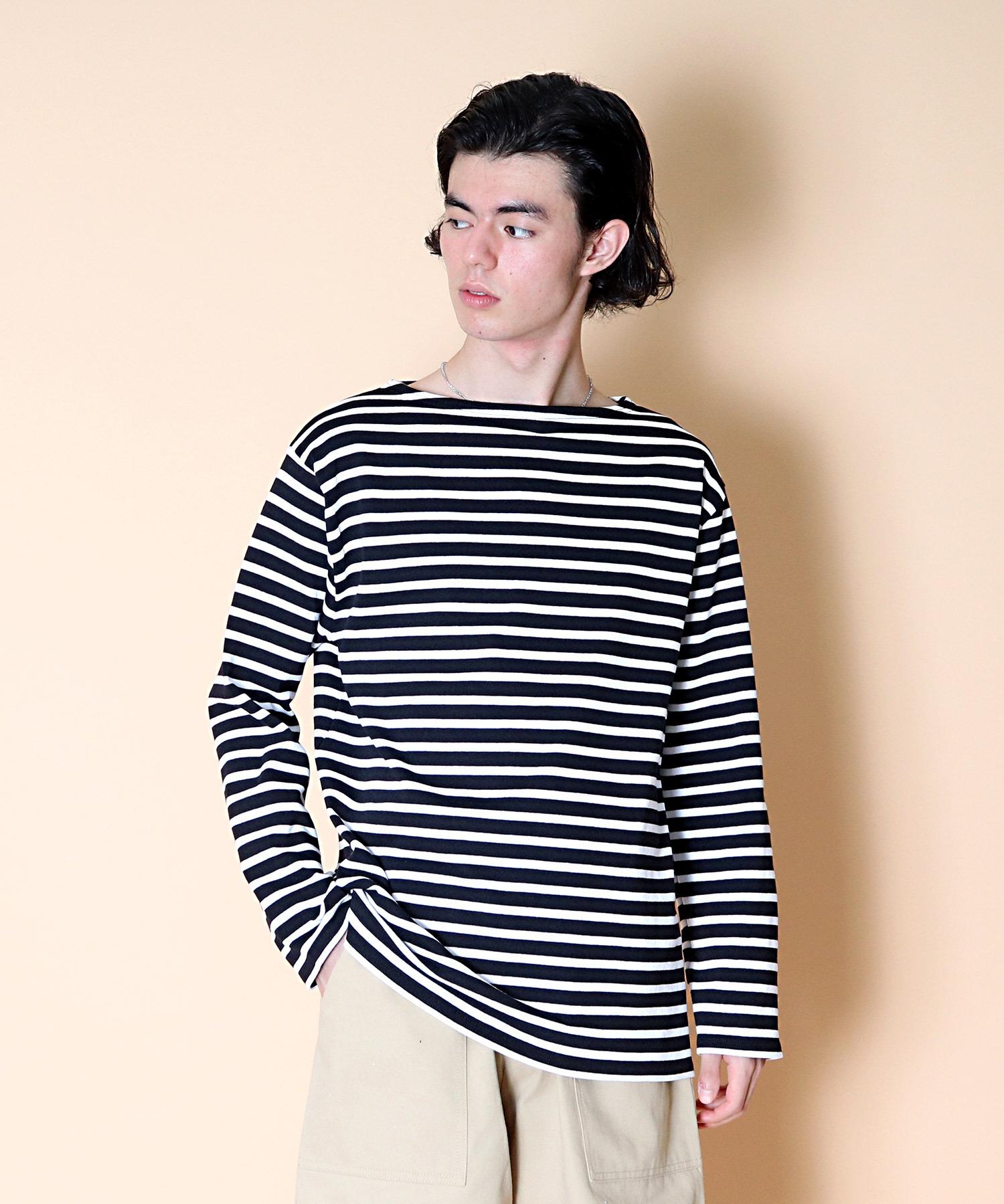 【 SAINT JAMES / セントジェームス 】 GUILDO  バスクシャツ R A 2501・U A 2503
