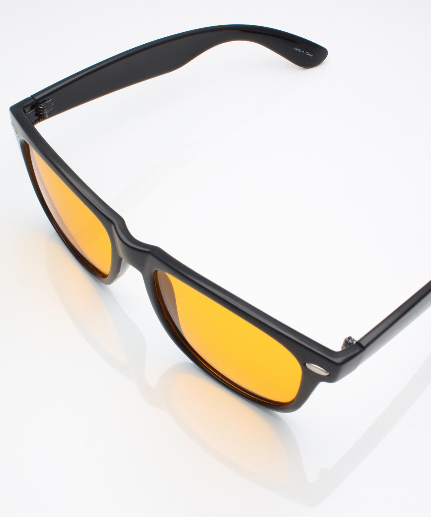 サングラス べっ甲 ボストン型 ウェリントン型 カラーレンズ/MONO-MART Select(サングラスケース箱付き)