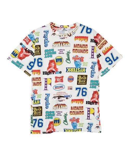 LIVE IN 76柄 オーバーサイズTシャツ