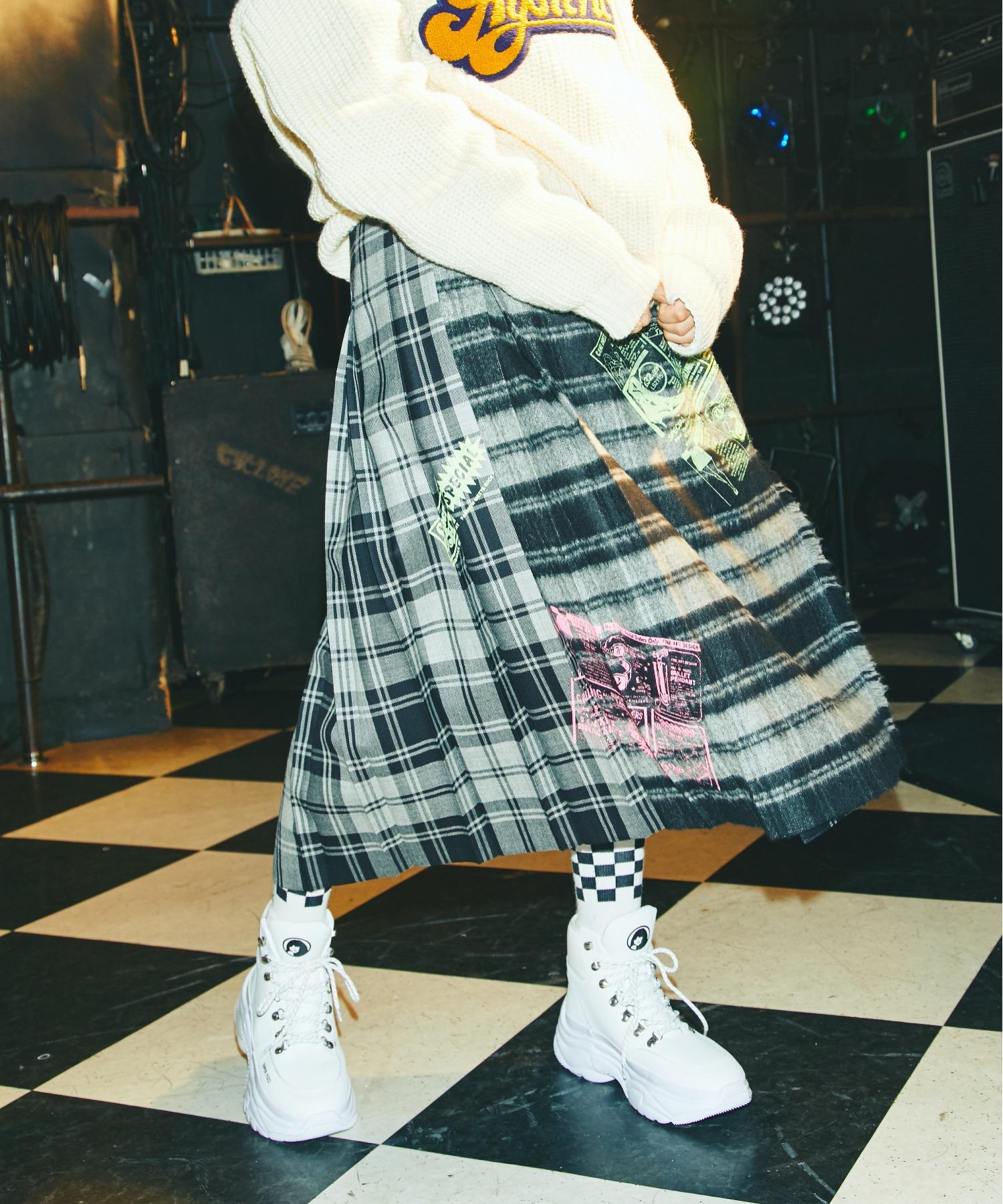 O'NEIL of DUBLIN SUPER HYS ROCK ロング巻スカート