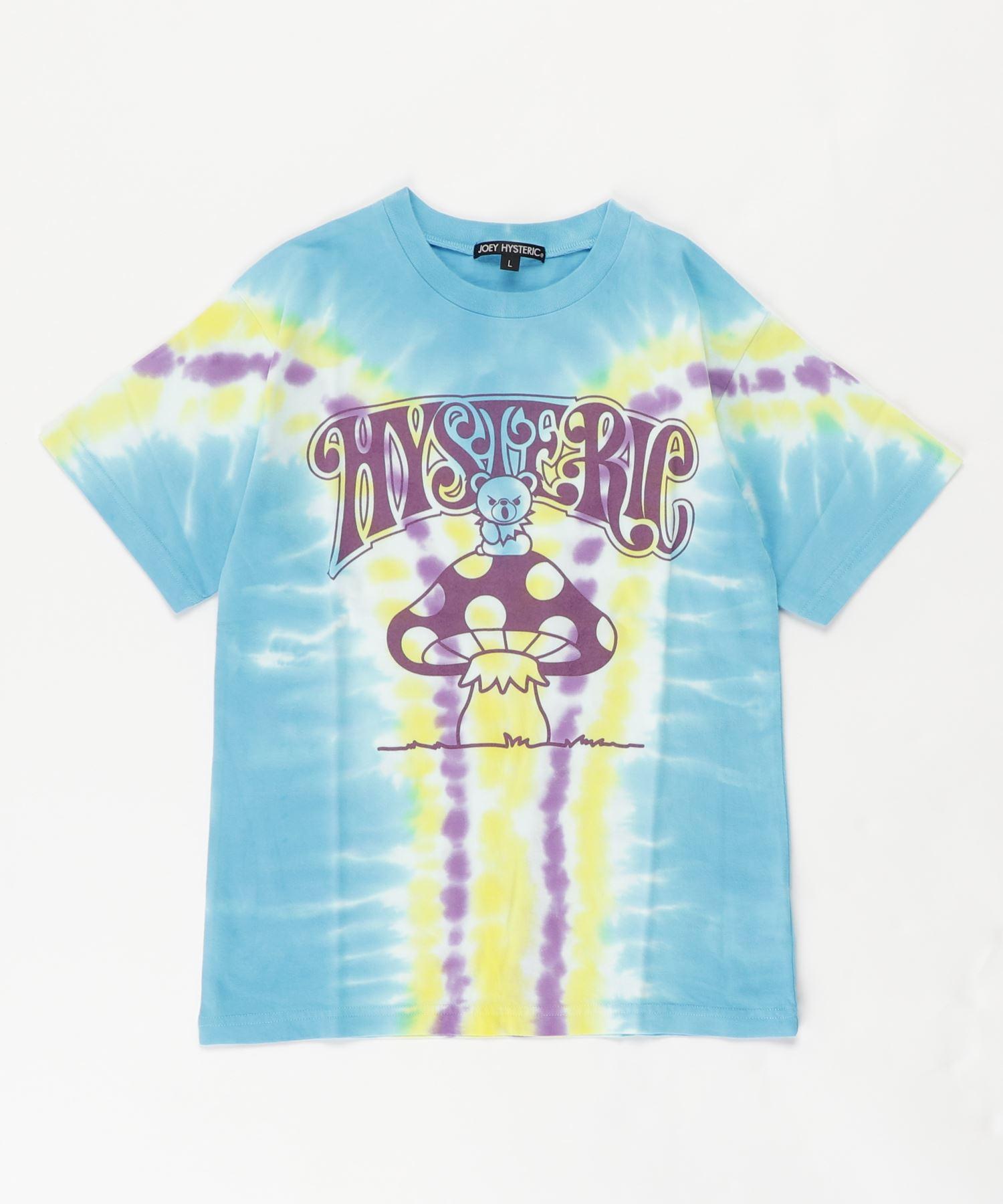 BEAR ON MUSHROOM Tシャツ【L】