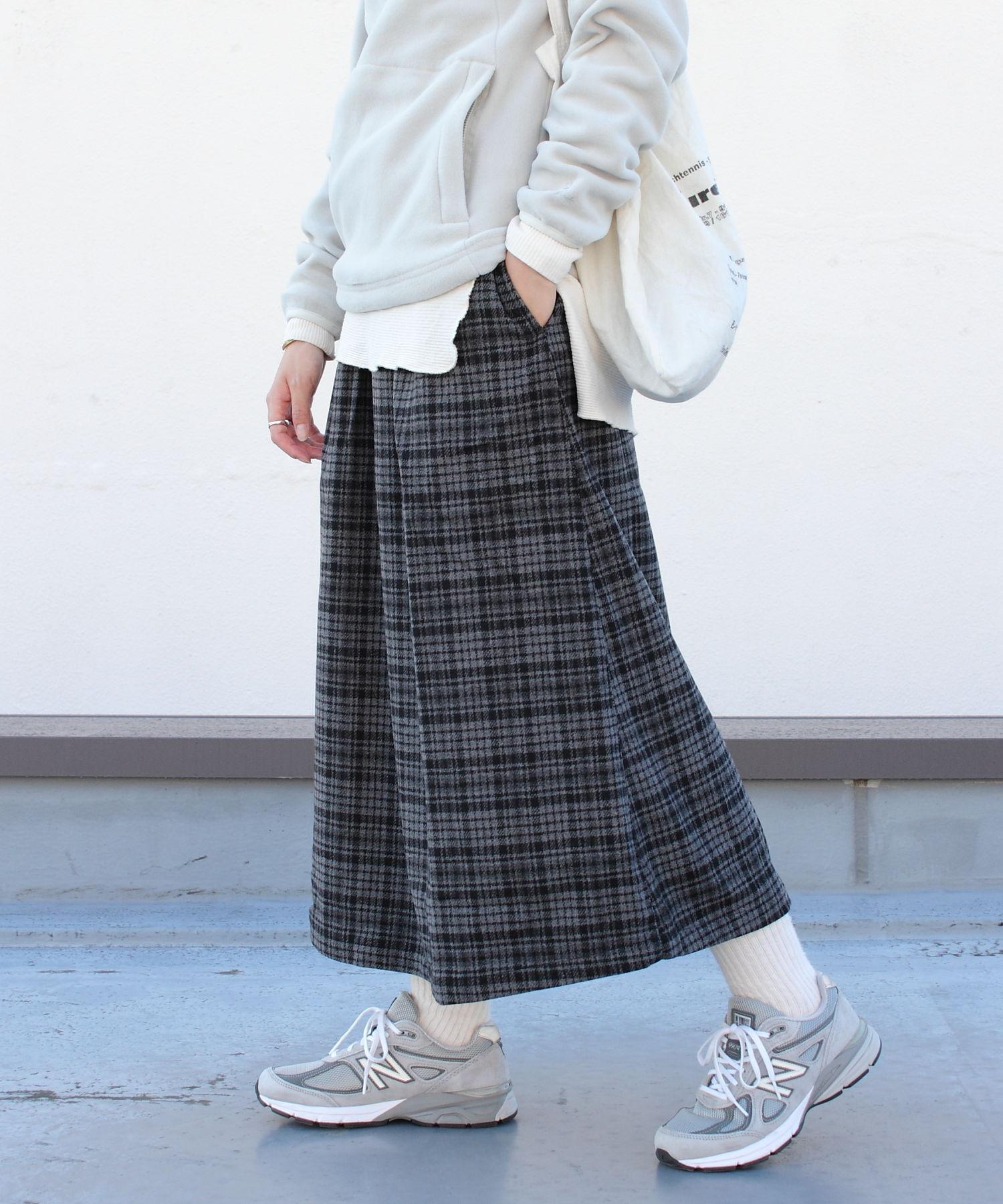 GRAMICCI/グラミチ ウールブレンド ロングフレアスカート WOOL BLEND LONG FLARE SKIRT GLSK-21F061
