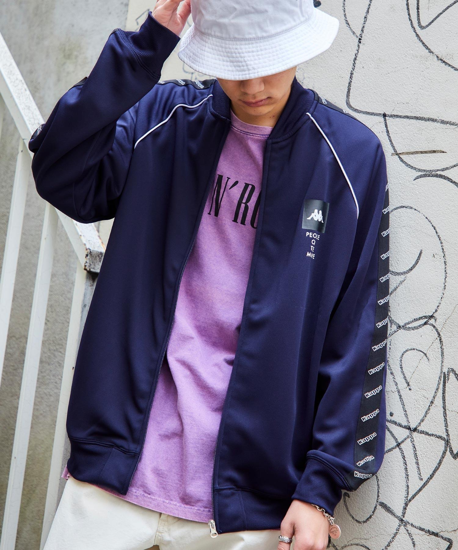 Kappa/カッパ 別注 袖サイドライントラックジャケット/ジャージ
