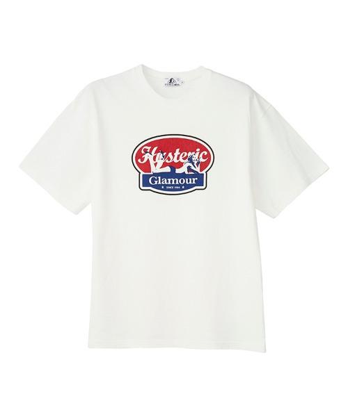 OVAL WOMAN LOGO Tシャツ