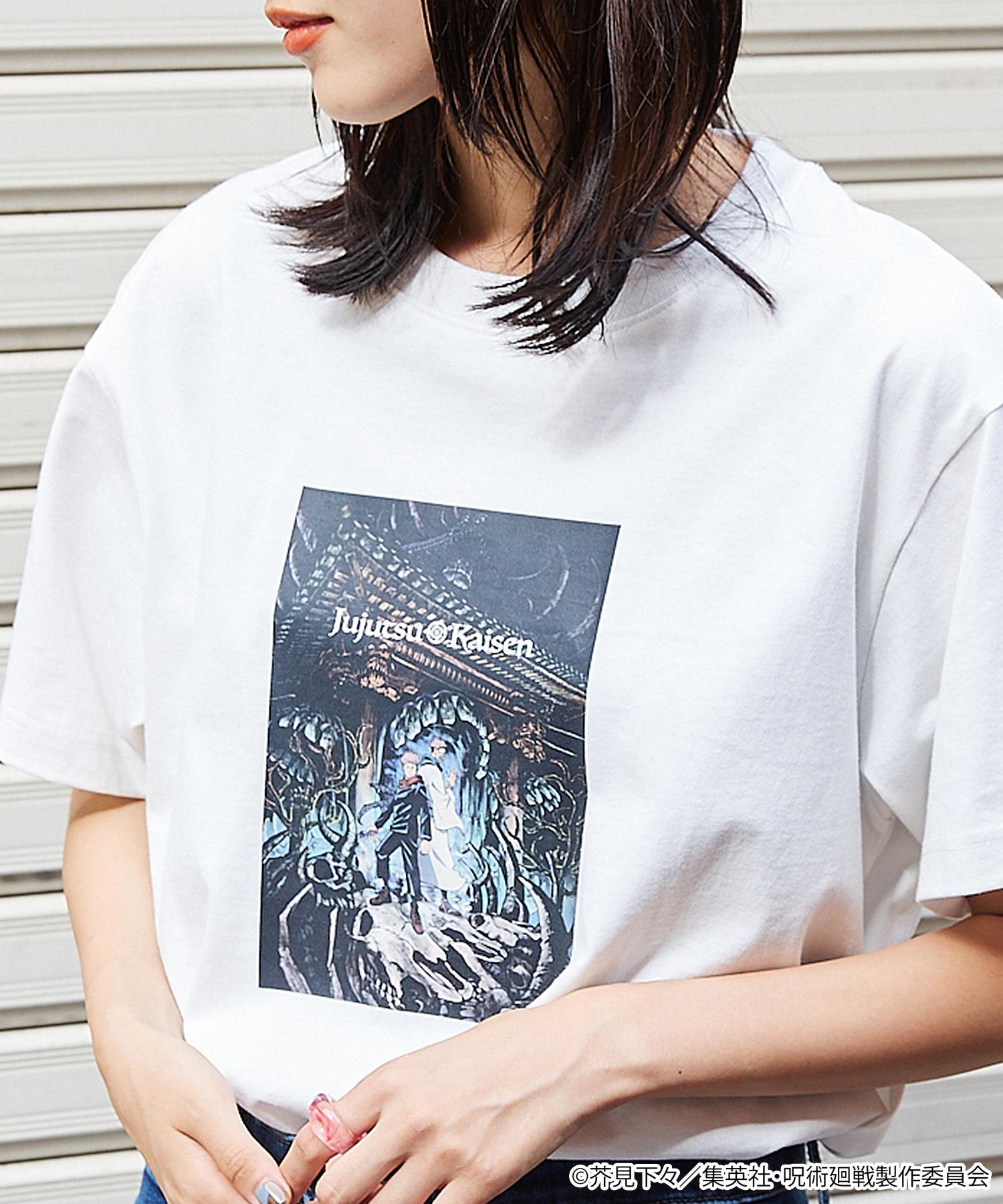 呪術廻戦 オーバーサイズ半袖カットソー<ユニセックスアイテム>