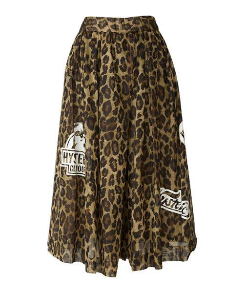 SUNDAY GIRL タックキュロットスカート