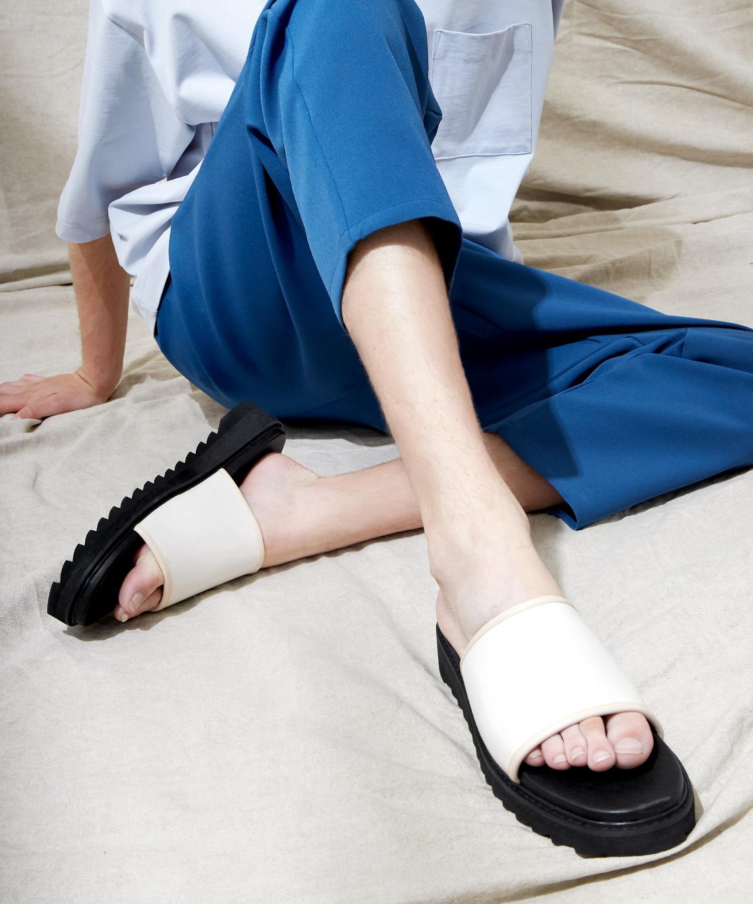 シャークソールサンダル/ベルクロ/ワンストラップ/ダブルモンク EMMA CLOTHES 2021SUMMER