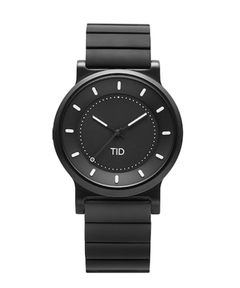 "TID WATCHES / ""No.4 - METAL WRISTBAND"" リストウォッチ 40mm"