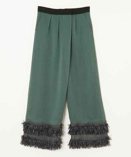 A PUPIL FRINGE PANTS