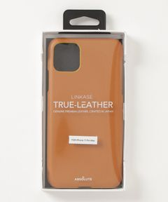 """ABSOLUTE / """"LINKASE TRUE LEATHER"""" iPhone 11 Pro Max ケース"""