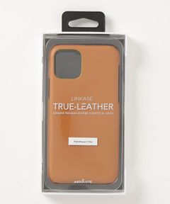 """ABSOLUTE / """"LINKASE TRUE LEATHER"""" iPhone 11 Pro ケース"""