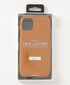 """ABSOLUTE / """"LINKASE TRUE LEATHER"""" iPhone 11 ケース"""